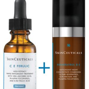 CE Ferulic y Resveratrol