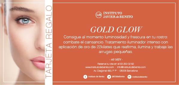 Tratamiento de cabina gold glow