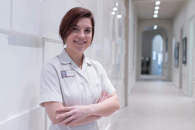 Yolanda Sanchez, experta en podología médica de Margaret Dabbs