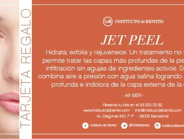 Cheque regalo, jet peel